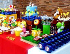 festa mario centro de mesa - Pesquisa Google
