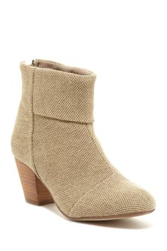 Bucco Earla Textured Ankle Bootie $23
