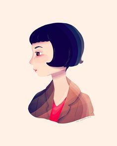 Image of Amelie - Open Edition Print