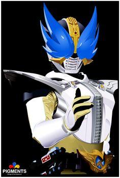 Kamen Rider Den-O - Wing form by dangele.deviantart.com on @deviantART