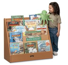 Sproutz® Flushback Pick-a-Book Stand - Free Shipping | Honor Roll Childcare Supply
