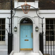 The Entrance to the Zetter Townhouse in London   House & Home.