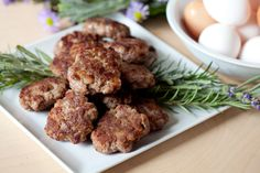 Wild Boar Sausage; a less intimidating breakfast sausage recipe that uses a food processor and can be swapped with other meats!