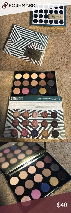Gwen Steffani x Urban Decay Eyeshadow Palette Brand new with box. Never used bẻoe, just dont think I like it anymore. Urban Decay Makeup Eyeshadow