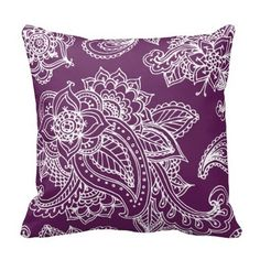 Shop Dark Teal Illustrated Bohemian Paisley Henna Throw Pillow created by jenniferstuartdesign. Personalize it with photos & text or purchase as is! Teal Throws, Teal Throw Pillows, Monogram Pillows, Designer Throw Pillows, Throw Pillow Cases, Decorative Throw Pillows, Pillow Covers, Floral Pillows, Bohemian Pillows