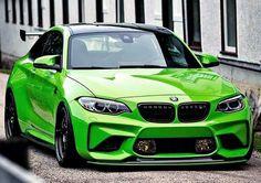 BMW Hamann F87 M2 green