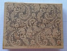 Stampin' Up! Background Stamp VICTORIAN LACE #StampinUp #Background