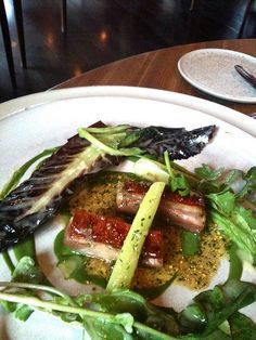 noma Restaurant in Copenhagen - Lamb water cress, fresh salads and ramson capers by paz.ca, via Flickr
