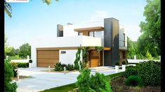Absolutely Stunning Storey House in a Modern Style with A Functiona. Style At Home, Small House Living, Modern Villa Design, Passive House, Design Case, Beautiful Architecture, Home Fashion, Home Projects, Sweet Home