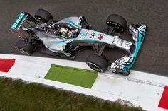 Lewis Hamilton at Monza