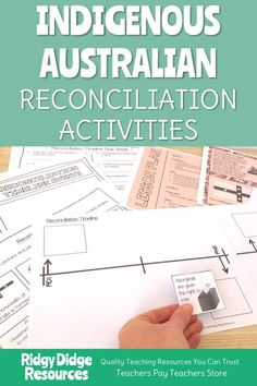 Indigenous Australian Reconciliation Timeline and Activities - Ridgy Didge Resources National Sorry Day, National Week, Naidoc Week Activities, Indigenous Education, First Fleet, Teaching Resources, Teaching Ideas, Cultural Studies, History Education