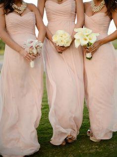 Gorgeous Bridsmaid Dress,Long Bridesmaid Dress,Pink Bridesmaid Dress,Sweetheart Bridesmaid Dress