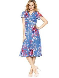 Savoir Angel Sleeve Soft Dress, http://www.littlewoodsireland.ie/savoir-angel-sleeve-soft-dress/1337894563.prd