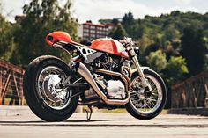 Orange Crush: Plan B's Yamaha XV 750