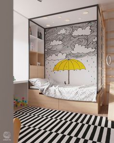 Rainy Day Kids Bedroom