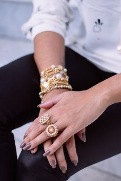 How to style rings