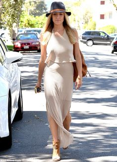 Looking phenomenal: Cavallari looked great leaving a salon in Los Angeles on Wednesday...