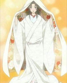 Kamisama Kiss Nanami wedding Kimono, disguised as Yukiji Kamisama Kiss, Tomoe, Manga Girl, Manga Anime, Anime Art, Popular Manga, Anime Devil, Wedding Kimono, Ecchi