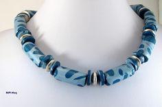 Polymer Clay, Necklace and Earring *WILDESMEER* von NiPi-Key auf DaWanda.com