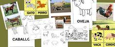 Recursos para el aula: Fichas para trabajar la Granja