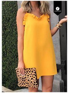 Simple Dresses, Beautiful Dresses, Casual Dresses, Short Dresses, Summer Dresses, Chic Outfits, Dress Outfits, Fashion Outfits, Look Fashion