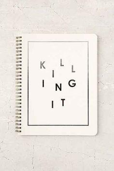 Killing It Notebook