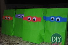 Ninja Turtle Birthday Party Theme