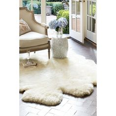 Shearling Rug from Soft Surroundings on shop.CatalogSpree.com, your personal digital mall.