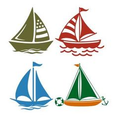 Nautical Sailing Boat Cuttable Design - - Available for FREE today only 4/24/17