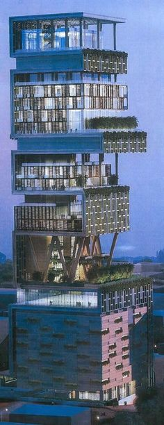 The+most+expensive+house+in+the+world+-+Antilia.jpg (394×1023)
