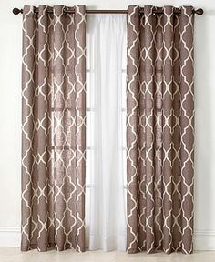 "Elrene Medalia 52"" x 84"" Panel - Curtains & Drapes - for the home - Macy's"