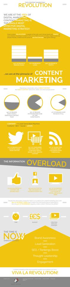 The Content Marketing Revolution   #infographic #ContentMarketing