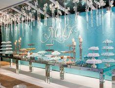 Paleta de cores frias - Mesa de doces - Decoração Eugenia Guerrera - Foto Rodrigo Sack