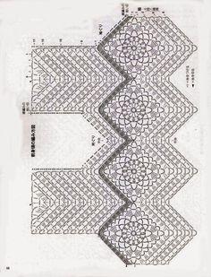 Crochet and arts: Lovely vest Crochet Shirt, Crochet Jacket, Crochet Poncho, Love Crochet, Irish Crochet, Crochet Motif, Crochet Yarn, Crochet Flowers, Crochet Stitches
