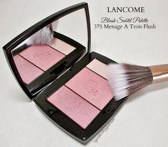 Icy Nails: Lancome Blush Subtil Palette in 375 Menage A Trois Flush.