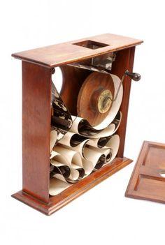 Parlor Kinetoscope. - Antiq Photo - Musée - [( 02. Pré-Cinéma|supprimer_numero)] - Achat, vente et estimation gratuite d'appareils photos anciens, de photographies de collection et de daguerréotypes.