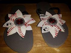 Baseball toe bling