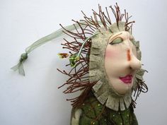 OOAK Tree Goddess Mountain Dolls Cloth Doll by MountainDolls, $25.00