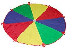 Buy Parachute with 8 Handles Game SS Worldwide 12 Feet Cooperative Play for Kids at online store Fun Games For Kids, Games For Toddlers, Kids Fun, Childrens Outdoor Toys, Old Trampoline, Parachute Games, Cooperative Games, Team Games, Game Sales