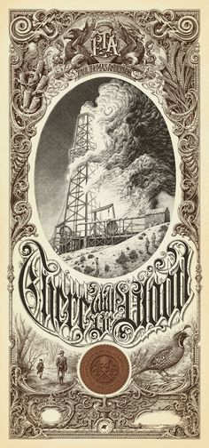 Aaron Horkey's There Will Be Blood poster