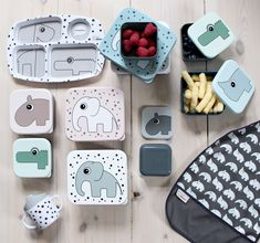 Lets meet and eat. Details from Done by Deers melamine series. Lunch boxes, plates, bibs and cups for kids lunch.