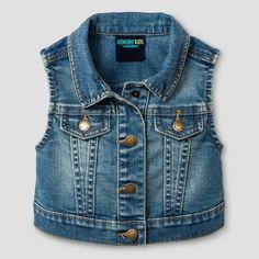 Genuine Kids from OshKosh Toddler Girls' Fashion Vest Genuine Kids® from OshKosh® - Medium Blue