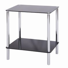 £18.99 45 x 40 cm Value by Wayfair Angla 2 Tier Side Table & Reviews   WF