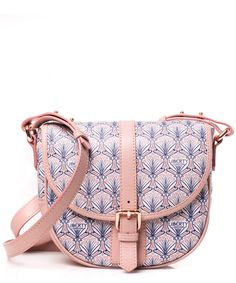 Liberty London Blush Carnaby Saddle Bag Designer Bags Co