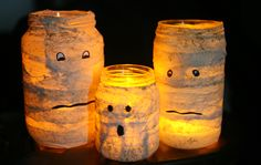 Bellart Atelier: Halloween: Velas Múmias