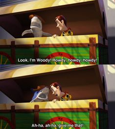 """When Mr. Shark does his iconic Woody impression. 