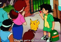 PikaBeginnings. Delia Ketchum/Hanako (Pokémon), Pikachu, Ash/Satoshi (Pokémon)