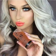 Makeup Geek, Makeup Inspo, Beauty Makeup, Elegant Makeup, Art Projects For Teens, Health Promotion, Setting Spray, Healthy People 2020, Cut And Color