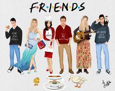 friends merchandise tv show Friends Show, Serie Friends, Friends Episodes, Friends Cast, Friends Moments, I Love My Friends, Friends Forever, Ross Geller, Phoebe Buffay