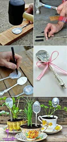 Interesting DIY Art Made from Spoons crafts 2015